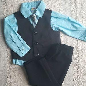 18m Boys Dress Set